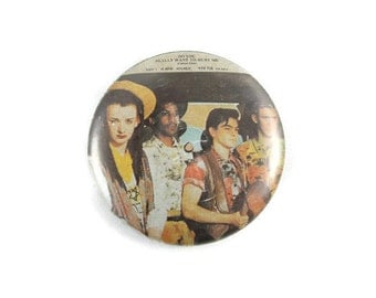 "1980s Culture Club ""Do You Really Want To Hurt Me"" 1.25"" Pinback Button Vintage"