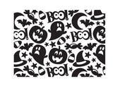 "Halloween Collage Darice Embossing Folder A6 - 10.7cms x 14.6 cms (4.24"" x 5.75"") Code 1219-212"