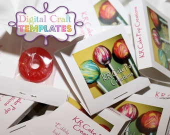 Edible Business Cards:  Custom Mintbooks with Candy.