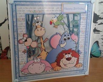 Kids Birthday Card, Birthday Card, Kids Card, Greeting Card, Handmade, Birthday