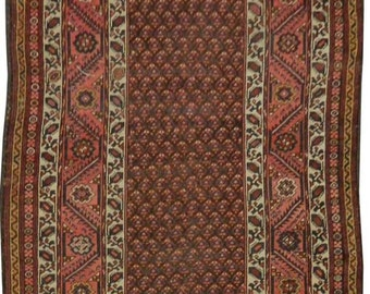 Antique Kurdish Runner 3.54m x 1.44m