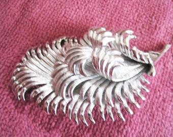 Large Silver Tone Pin