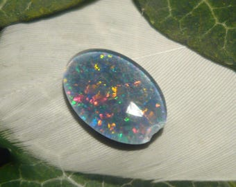 DISCOUNT Reclaimed Vintage Opal Triplet, 2.2ct (Damaged)