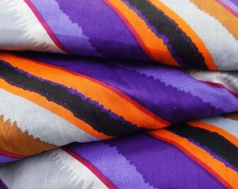 Dressmaking Fabric Cotton Fabric For Sewing Designer Multicolor Quilting Cotton Sew Fabric Striped Printed Curtain Drape By 1 Yard ZBC6636