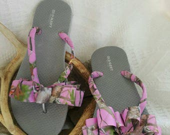 Pink Camouflage size 7