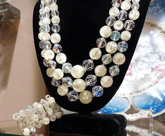 LAGUNA Necklace Bracelet Set / Designer Jewelry