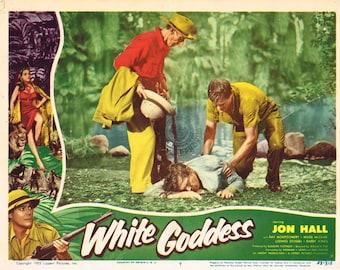 "White Goddess -  1953  11"" x 14"" US  lobby card No 7"