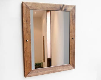 Wall Mirror Large, Wood Mirror