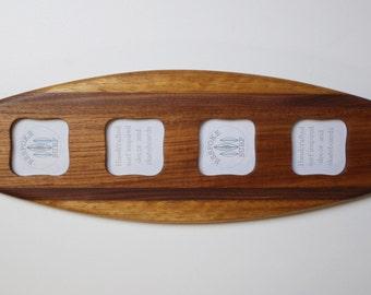Surfboard picture frame - 'Smugglers Ledge'