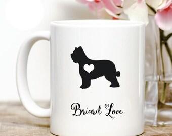 Briard Love Coffee Mug