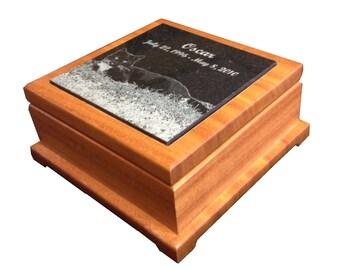 Alder Wood Keepsake Urn