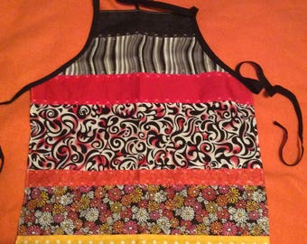 Reversible Patch Work Child a Sized Apron