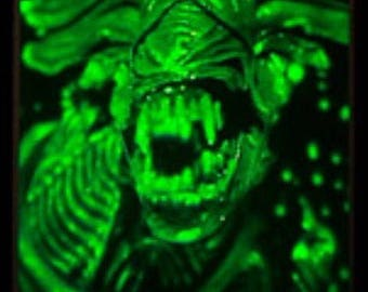 Rare! Lightrix alien queen hologram