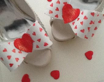Valentine Shoe Clips