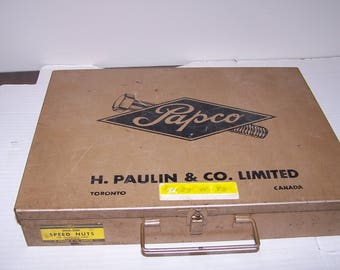 Papco Metal Industrial Parts Drawer, Parts Sales Case