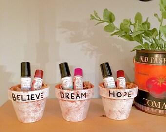 Essential Oils Roller & Lip Balm Gift Set