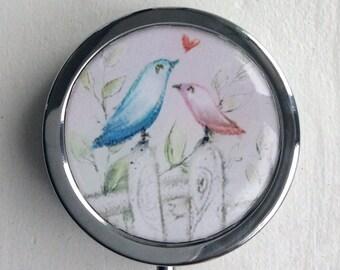 Pill, jewlery and little treasure/ BOXE/ pastel bird