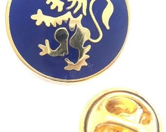 Scotland Lion Rampant  quality  Enamel Lapel Pin Badge