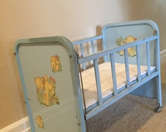 Amsco Metal Doll Crib