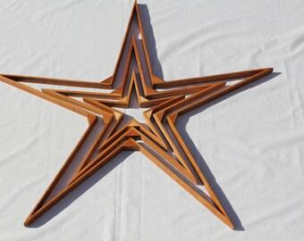 Rustic Wood Star Wood Star Home Decor Reclaimed Wood Star Rustic Home