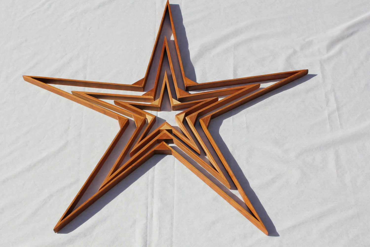 Rustic Wood Star Wood Star Home Decor Reclaimed Wood