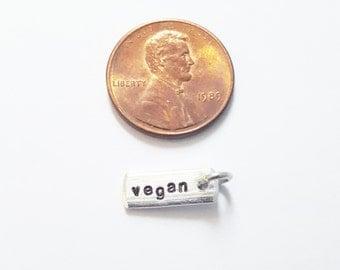 "Miniature ""vegan"" Charm"
