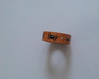 Slightly Used* Halloween Spider Washi Tape