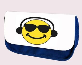 Emoji COOL DUDE Pencil Case / Clutch or Make up Bag