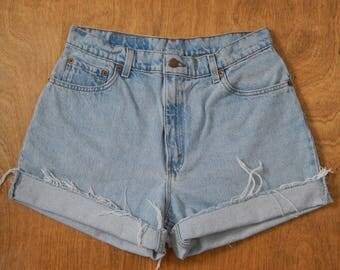 High Waisted Denim 550 Levi's