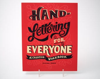 Hand Lettering for Everyone, a creative workbook by Cristina Vanko
