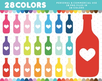 Bottle clipart, Wine clipart, Wine bottle clipart, Drink clipart, Bottle icon, Wine bottle icon, Drink icon, Commercial License, CL-394
