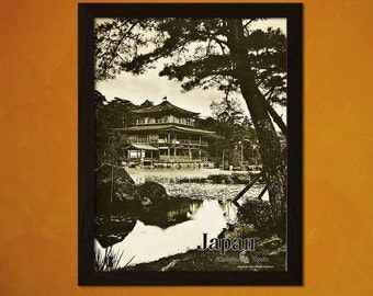 FINE ART REPRODUCTION Vintage Japan Travel Print 1936 Vintage Travel Poster Japan Poster  Art   Japanese Art