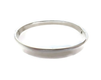 Sterling Silver Bangle/Georg Jensen Style/Ethical Silver Jewelry Jewellery/Bridemaids Gifts/Mothers Day/Wedding Shower/Free Shipping/Sale