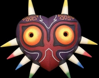 Majora's Mask - Wearable cosplay mask - Skullkid's mask