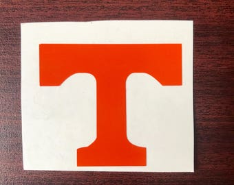 Power T Vinyl Decal University of Tennessee