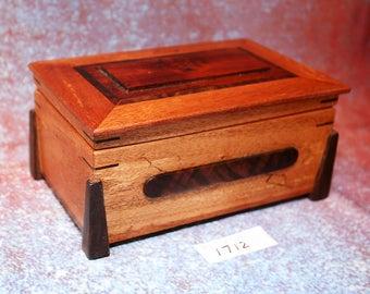 Wooden Koa, Walnut and Inia box