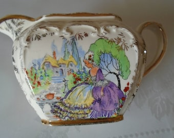 Sadler crinoline lady milk jug