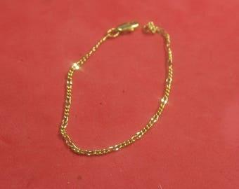 F-91  Vintage Bracelet 7 in long