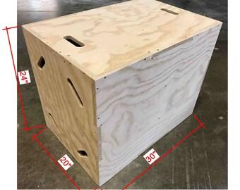 20x24x30 Plyo Box (flat pack)