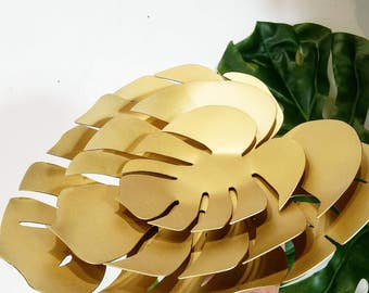Philodendron Leaf Bowl