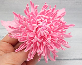 Wedding party gifts Flower for hair Wedding pink Hair flower girl Flower hair clip Flower girl gift Hair clip pink Bridal hair clip Pink