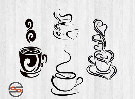 Download Coffee SVG, Tea svg cut files, DXF, SVG cutting files ...