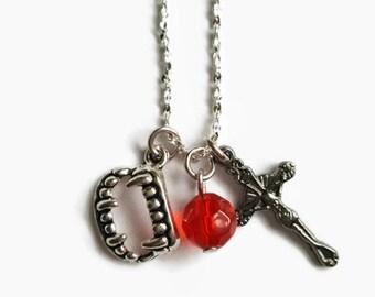 Vampire Goth Necklace **ONE-OFF ITEM**