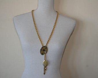 Karl Lagerfeld long necklace