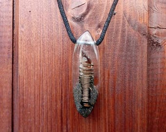 Smokey quartz pendant