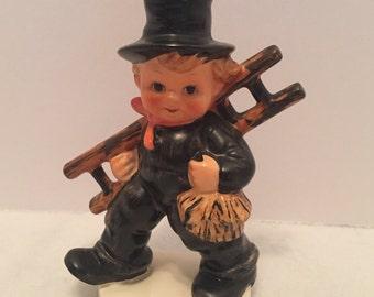 "Vintage Goebel Hummel Figurine ""Chimney Sweep"""
