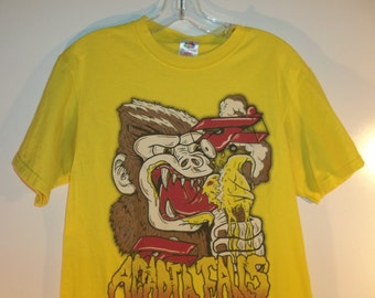 90s King Kong graphic comic grunge t shirt// Vintage unisex Fruit of Loom tee// Women's size small medium & men's small 38