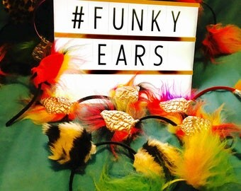 Funky furry ears headbands