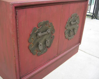 shabby chic red furniture. wonderful antique red shabby chic chinese chest nightstand end side decorative wooden table 100 shipping furniture