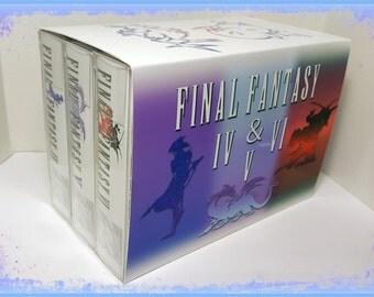 Final Fantasy: Collector's Edition - English Snes ntsc CiB Sealed - ff iv, v, vi / IV, V, VI / 4, 5, 6.